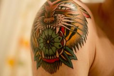 ~~~quite possibly the most awesome tattoo ever...................... American Traditional Tattoo