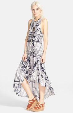 Free People 'La Mar' Print Dress