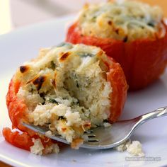 Quinoa Stuffed Tomatoes | Gluten Free Recipe