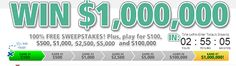 The Winloot and Rewardit – Win daily $100 cash prize as well as larger giveaways including $100,000 and $1,000,000