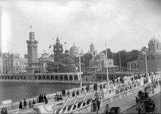 vintage everyday: EXPO Paris 1900: The First World's Fair of 20th Century – 59 Amazing Vintage Photos Documented Visitors of the Exhibition in 1900