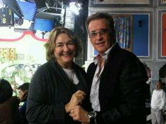 Con Carmen Armendariz