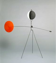 Alexander Calder, Red and Yellow Vane, 1934. Calder Foundation, New York, NY…