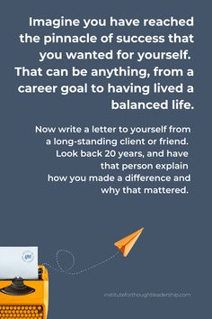 You Make A Difference, Career Goals, Letter Writing, 20 Years, Looking Back, Leadership, Success, Lettering, Thoughts