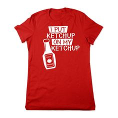 Funny T Shirt Funny Ketchup T Shirt Catsup Funny Tshirt Ketchup Tshirt... ($16) ❤ liked on Polyvore featuring tops, t-shirts, shirts, black, women's clothing, graphic tees, black top, crew neck shirt, t shirts and cotton shirts
