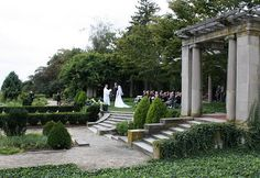Outdoor Wedding Ceremony Locations in Connecticut: gazebo, garden, beach, lakeside, waterfront, and rustic wedding sites- CT
