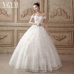 伊醉衣美秋冬婚紗禮服一字肩新款2015新娘韓式顯瘦大碼拖尾蕾絲