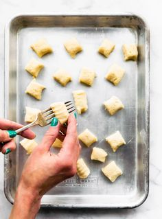A gluten-free gnocchi recipe made with cauliflower is your dream come true! Easy-to-follow instructions, cauliflower gnocchi made in the air fryer, baked in the oven, or boiled.