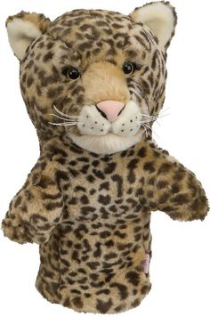 Leopard Golf Animal Headcover - Driver Head Cover Daphnes Golf Club Cover #DaphnesHeadcovers