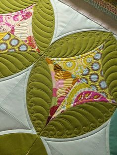 Quilting on Mod Oliv