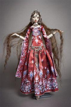 Dunyazade. Авторская кукла Марины Бычковой
