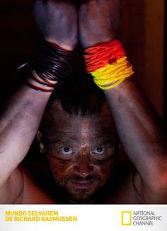 Richard participa de um ritual na Amazônia e é picado por mais de 200 formigas. Mundo Selvagem de Richard Rasmussen. #RichardNoNatGeo #NatGeo www.natgeo.com.br/mundoselvagemderichardrasmussen