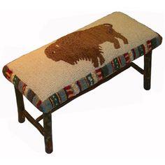 Buffalo Cowboy Bench
