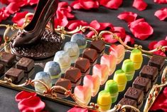 八事サーウィンストンホテルの「ビューティー アフタヌーンティー」宝石箱のようなショコラバー
