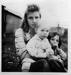 Linda, Stella and Mary McCartney.