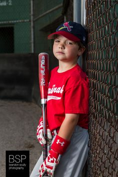 Little League Baseball, sports portrait, strobist, flash photography