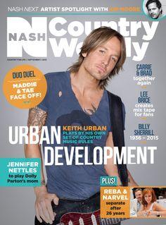 September 7, 2015 – Keith Urban - Nash Country Weekly