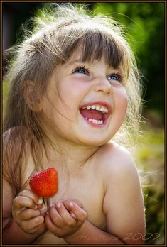 Nothing makes ME happier than the sound of a childs laughter and the joy it spreads !