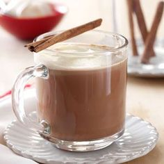 Cinnamon Mocha Coffee Recipe from Taste of Home