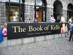 Book of Kells Trinity College, Dublin Ireland Irish Sayings, Irish Quotes, Dublin House, Dublin City, Dublin Ireland, Ireland Travel, Trinity Library, Beautiful Library, Celtic Culture