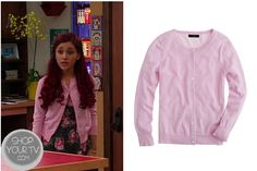 Shop Your Tv: Sam & Cat: Season 1 Episode 3 Cat's Pink Cardigan