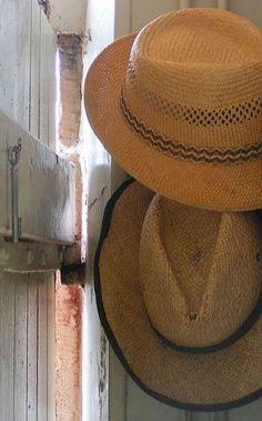 les chapeaux de paille