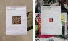 Peter Orntoft, My Favourite Copenhagen poster