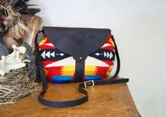 The Taplin Purse // Bright Geometric by ShelterProtectsYou on Etsy, $134.00