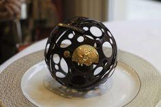 Epicure Bristol - Sphère Chocolat - Dessert Laurent Jeannin