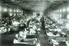 The 1918 flu pandemic was an unusually deadly influenza pandemic. In the year 1918 to 1919, the flu struck the world that resulted in around 35 million to 75 million deaths all around the world. It infected 3 to 5 percent of the world's population, making it one of the deadliest natural disasters in human history.