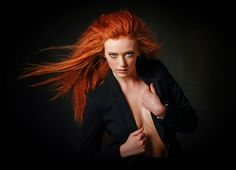 Red alert by J.A Kamfjord on Freckles, Redheads, Poses, Sexy, Pretty, Instagram Posts, Hair, Portrait, Inspiration