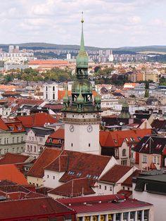 Historic center of Brno - Czech Republic