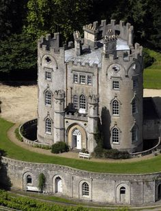 England Travel Inspiration - Midford Castle - near Bath, Somerset, England, owned by Nicolas Cage