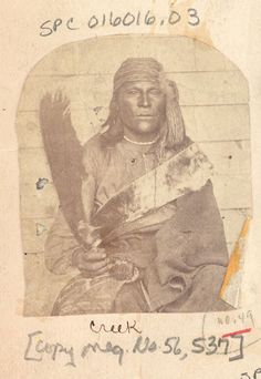 Creek Indianer