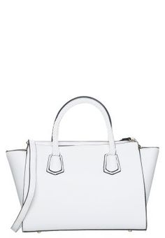 Handtasche - white Fashion Online Shop, Mode Online Shop, Trends, London, Rebecca Minkoff, Tote Bag, Black And White, Outfit, Bags