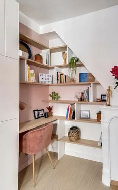 69+ ideas under the stairs nook small office for 2019 #stairs