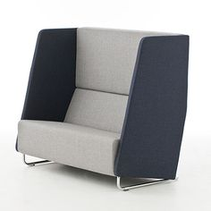 Nienkamper - BASS high back 2 seater sofa (Passes CAL133 but requires burn test)