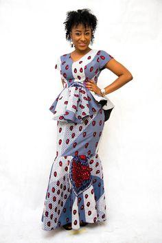 Latest ankara styles inspiring ankara skirt and blouse to… by Zahra Delong - 2019 Trends Ankara Skirt And Blouse, Ankara Dress Styles, Kente Styles, Latest Ankara Styles, African Dresses For Women, African Attire, African Fashion Dresses, African Women, African Lace