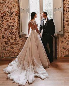30 Totally Unique Fashion Forward Wedding Dresses ❤ fashion forward wedding dresses princess open back justinalexander #weddingforward #wedding #bride #weddingoutfit #bridaloutfit #weddinggown