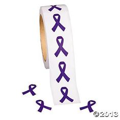 Purple Ribbon Awareness Stickers 500 per pack/Fundraiser/Awareness/Stickers/toys, http://www.amazon.com/dp/B00B771NGU/ref=cm_sw_r_pi_awdm_E23qtb0217CSK