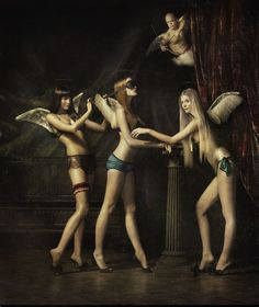Couture angels! By Erwin Olaf