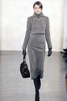 Ralph Lauren Fall 2007 Ready-to-Wear Fashion Show - Yevgeniya Kedrova