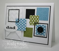 Wickedly Wonderful Creations: Squares for Dad - Father's Day