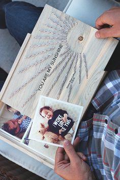DIY Caja de madera bordado
