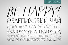 Festa Classica Family - Display Greek Font, Handwritten Type, Open Type, Graphic Design Typography, Republic Of The Congo, Script, Lettering, Graphics, Patterns