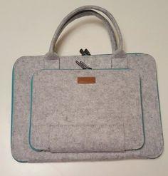 Ropch Universal 14 inch Felt Laptop Sleeve Bag Pouch Blue | eBay