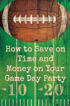 If you're planning a game-day party this bowl season or some other time to root for your favorite team, here are some ways to save money and still have a great time too.