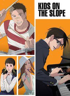 Animé : Kids on the Slope - Site de opaledefeu !