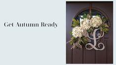 October ready Interior Design Work, Grapevine Wreath, October, Autumn, Make It Yourself, Youtube, Inspiration, Home Decor, Biblical Inspiration