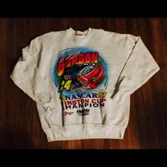 Vintage Jeff Gordon sweatshirt XL Nice sweatshirt! No holes tears or stains! Vintage nascar apparel! Tops Sweatshirts & Hoodies